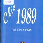 Alexandru Osca, Clio 1989, Nr. 1-2, 2006