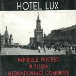 Arkadi Vaksberg, Hotel Lux