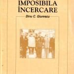 Dinu C. Giurescu-Imposibila incercare
