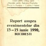 Grupul pt. Dialog Social, Raport...