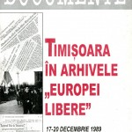 Miodrag Milin coordonator, Timisoara in arhivele Europei Libere...