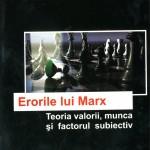 Viorin Ion Oancea, Erorile lui Marx