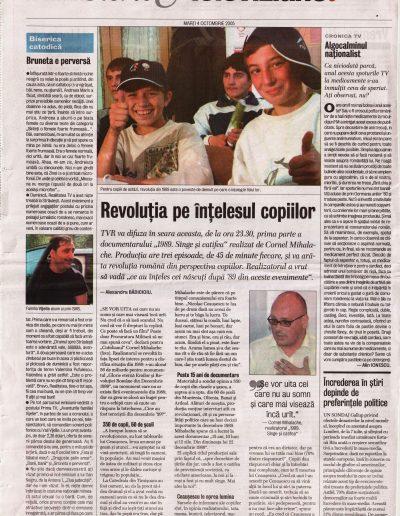 Ev.z 05.10.04 Revolutia pe intelesul copiilor